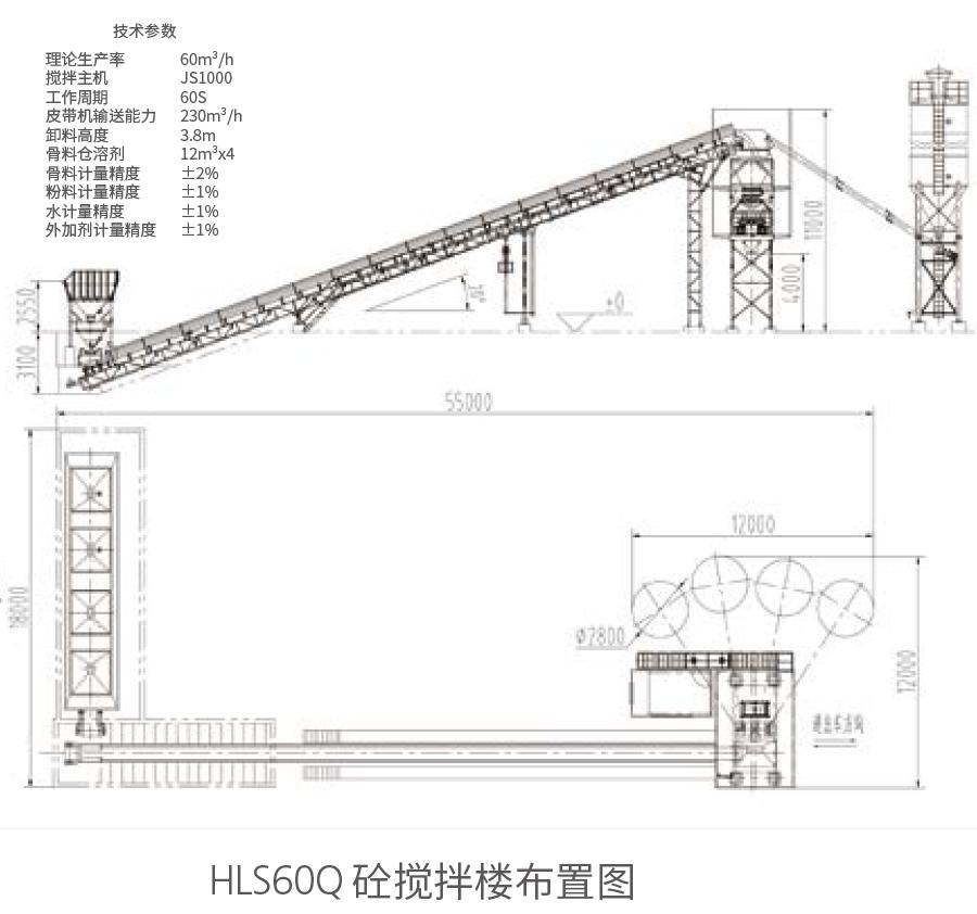 HLS60Q砼新万博manbetx体育app下载楼布置图